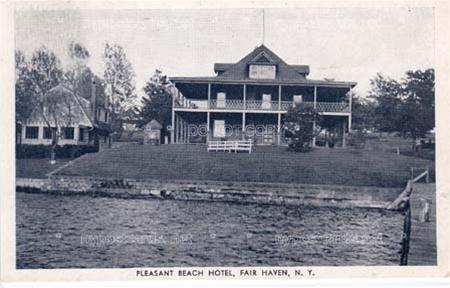 Pleasant Beach Hotel, Fair Haven NY