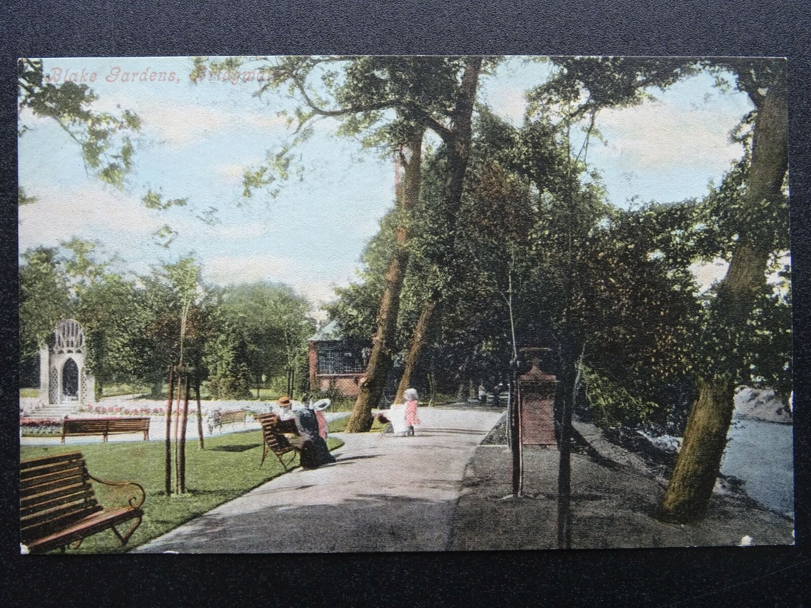 Sensational Somerset Bridgwater Blake Gardens Old Postcard By Cjindustries Chair Design For Home Cjindustriesco