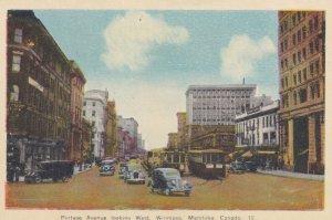 WINNIPEG, Manitoba, Canada, 1910-1930s; Portage Avenue Looking West