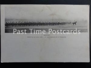 c1901 - Belfort - Defile du 14 Juillet 1901 - 1er 1/2 Regiment du 11e Hussards