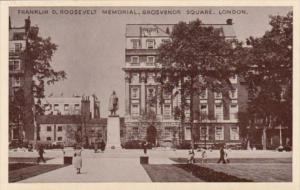 England London Franklin D Roosevelt Memorial Grosvenoer Square