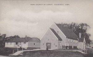 Iowa Goldfield Park Church Of Christ Artvue