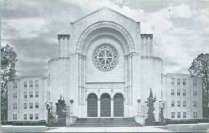 Vtg Litho Photo Postcard - Dauphin Way Baptist Church Mobile, Alabama AL - UNP