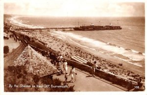 By the Shelters on the West Cliff Bournemouth United Kingdom, Great Britain, ...
