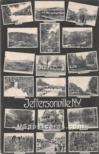 Greetings from Jeffersonville NY 1911