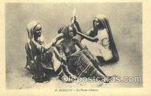 Djibouti African Nude Nudes Postcard Post Card  Djibouti
