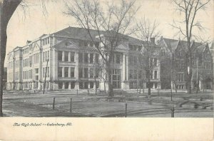 The High School ,Galesburg, Ill.