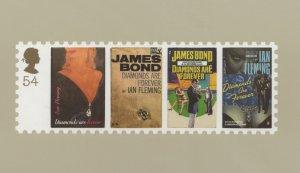 James Bond 007 Full Set of 7 PHQ Postcard s NEW SEALED