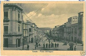 07428   CARTOLINA d'Epoca: LICATA - Agrigento SICILIA
