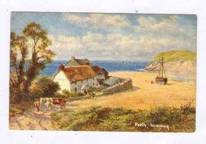 Scene, Porth, Cornwall, England, UK, 1900-1910s