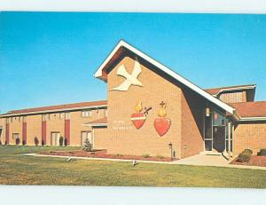 Unused Pre-1980 CHURCH SCENE Washington New Jersey NJ L2928-22