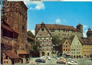 Germany, Nuremberg, Nurnberg, Die Burg, 1983 used Postcard