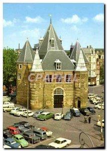 Postcard Modern Amsterdam Het Waaggebouw