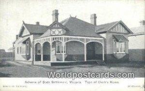 Clerk's Home Victoria Australia Unused