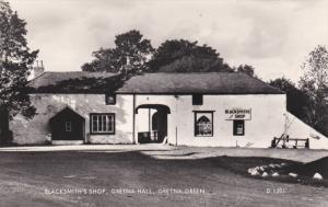 RP: Blacksmith's Shop , Gretna Hall , GRETNA GREEN , 20-40s