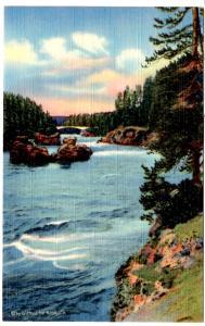 ROBBINS 1245 Rapids of the Yellowstone, Yellowstone National Park