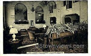Lobby, Hotel Alexander Hagerstown MD 1940