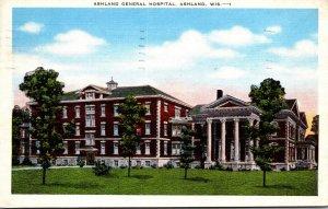 Wisconsin Ashland General Hospital 1950