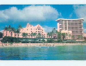 Unused Pre-1980 ROYAL HAWAIIAN HOTEL Waikiki Hawaii HI Q4276
