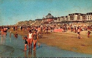 Netherlands Scheveningen Beach With Casino