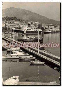 Modern Postcard Ajaccio Port Of Fisheries And Boats
