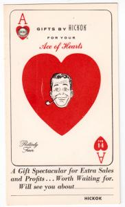 Playing Card - Ace of Hearts by Hickok