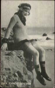 Sexy Woman Pinup Bathing Beauty - Mack Sennett Comedy Exhibit Card #4