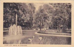 Germany Lahr Partie Im Stadtpark 1920