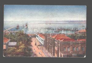 083200 CEYLON Colombo harbour Vintage TUCK 8575 PC