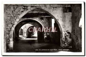 Old Postcard Villefranche Sur Mer Old Passage