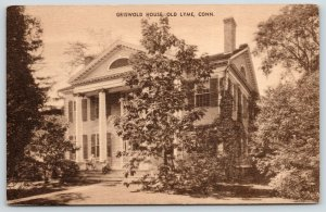 Old Lyme CT~Florence Griswold Boarding House Impressionist Artists~1930 Sepia
