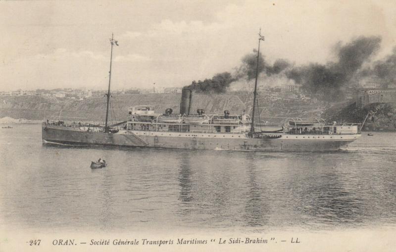ORAN , Algeria , 00-10s ; Ocean Liner Le Sidi-Brahim