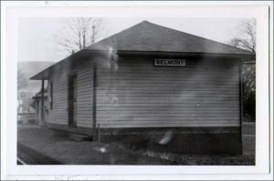 NY - Belmont, Railroad Depot