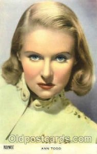 Ann Todd Actor, Actress, Movie Star Unused