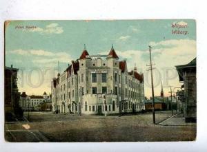 183858 RUSSIA Vyborg Hotel Rauch Vintage Granberg #7 postcard