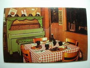1960's Hickory House Restaurant Sedalia Missouri MO Unused Postcard y7979@