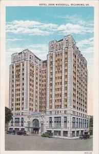 Virginia Richmond Hotel John Marshall