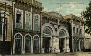 brazil, PARÁ, Quartel do Corpo Municipal de Bombeiros, Fire Department (1910s)
