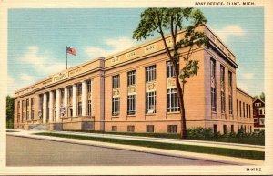 Michigan Flint Post Office Curteich