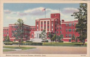 Connecticut Norwich Medical Infirmary Uncas-On-Thames Curteich