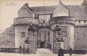 NANTES, Loire Atlantique, France, 1900-1910's; Entree Du Chateau