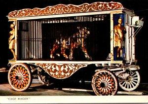 Florida Sarasota Ringling Museum Of The Circus Cage Wagon