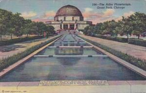The Adler Planetarium Grant Park Chicago 1949