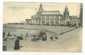 Ostende.- La plage et le Kursaal., Belgium, pre-1907