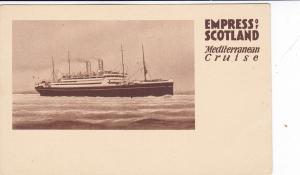Empress of Scotland, Mediterranean Cruise, Ocean Liner, 10-20s