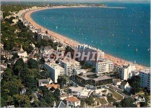 Postcard Modern Colors of Britain's Love prices La Baule most beautiful beach...
