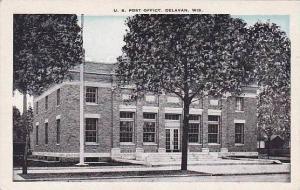 Wisconsin Delavan Post Office
