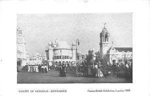 Franco-British Exhibition, Court of Honour - Entrance, London 1908