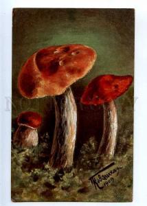 224925 RUSSIA KOVALSKAYA red mushroom Richard #4189 postcard