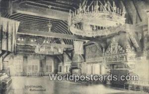 Dortmund Germany, Deutschland Postcard Rathaussaal Dortmund Rathaussaal